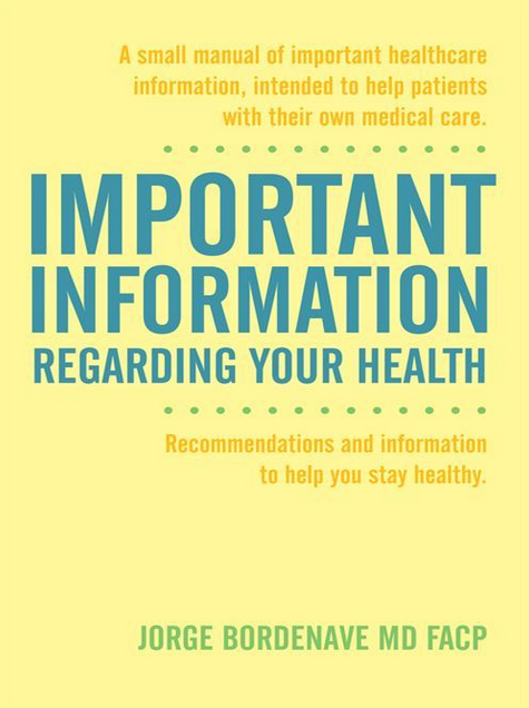 Important Information about your health